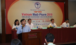 450 đơn vị đến từ nhiều quốc gia tham dự triển lãm quốc tế chuyên ngành y dược Việt Nam lần thứ 26