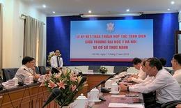 Đaị học Y Hà Nội ký kết hợp tác toàn diện với 12 bệnh viện