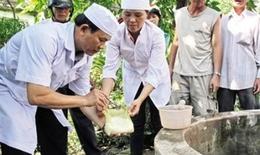 Bộ Y tế khuyến cáo phòng chống các bệnh dịch, khử trùng nước sinh hoạt sau mưa lũ