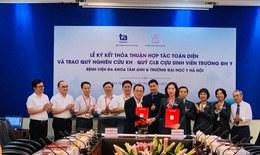 Đại học Y Hà Nội ký kết hợp tác toàn diện với BVĐK Tâm Anh