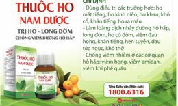 Thuốc ho Nam Dược: Giải pháp trị ho hiện đại từ bài thuốc 300 năm tuổi