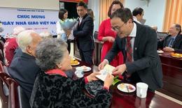 Cuộc gặp gỡ, tri ân đặc biệt nhân ngày nhà giáo Việt Nam tại trường Đại học Y Hà Nội