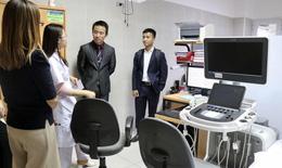 Bệnh viện đầu tiên sử dụng máy siêu âm hiện đại giúp phát hiện bất thường thai nhi giai đoạn sớm