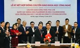 Trường Đại học Y Hà Nội lần đầu ký kết chuyển giao nghiên cứu khoa học vào ứng dụng thực tiễn