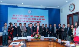 Thêm 5 bệnh viện lớn ký kết hợp tác toàn diện với Trường Đại học Y Hà Nội