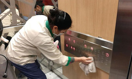 Khử khuẩn, vệ sinh môi trường tại chung cư để phòng chống dịch bệnh COVID-19