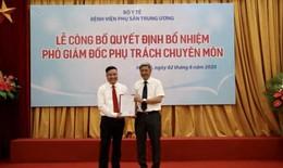 PGS.TS Vũ Văn Du giữ chức Phó giám đốc phụ trách chuyên môn của Bệnh viện Phụ sản Trung ương