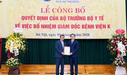 PGS.TS Lê Văn Quảng giữ chức vụ Giám đốc Bệnh viện K