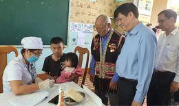 Hơn 10 triệu liều vắc-xin tiêm chủng cho 4,7 triệu người dân 4 tỉnh Tây Nguyên