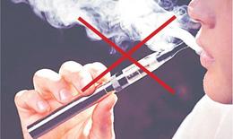 Cảnh báo: Gia tăng tỉ lệ sử dụng thuốc lá điện tử trong giới trẻ