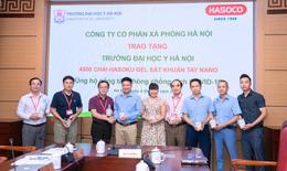 """""""Tiếp sức"""" phòng chống dịch COVID-19 cho Trường Đại học Y Hà Nội"""