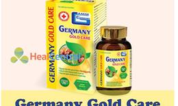 Thực phẩm bảo vệ sức khỏe Germany Gold Care quảng cáo lừa dối người tiêu dùng