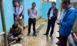 Tổ công tác số 2 của Bộ Y tế đến hỗ trợ Quảng Bình khắc phục hậu quả mưa lũ