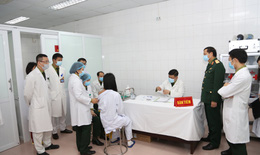 Ngày 12/1, tiêm vắc xin COVID-19 của Việt Nam liều cao nhất cho 3 người tình nguyện