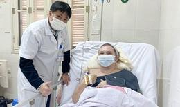 Cứu bệnh nhân nước ngoài tai nạn giao thông đa chấn thương, tắc mạch