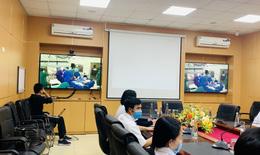 Từ Hà Nội, qua y tế từ xa, chuyên gia BV Việt Đức giúp tuyến dưới cứu bệnh nhân vỡ tim nguy kịch