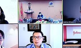 Bộ Y tế làm việc với Jonhson & Jonhson về cung ứng vắc xin COVID-19 cho Việt Nam