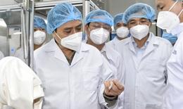 Thủ tướng: Tháo gỡ mọi khó khăn, lập tổ hành động để thúc đẩy sản xuất bằng được vắc xin phòng COVID-19 nhanh nhất