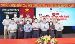 Bộ Y tế bàn giao phần mềm tổng hợp, phân tích, báo cáo dịch bệnh COVID-19 cho Phú Yên