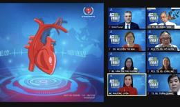 Vừa chống dịch, gần 900 y bác sĩ vừa cập nhật xu hướng điều trị về bệnh tim mạch