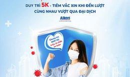"""Bộ Y tế phát động chương trình """"Triệu lá chắn an toàn 5K + Vắc xin"""""""