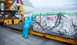 3 triệu liều vắc xin COVID-19  Moderna do Hoa Kỳ hỗ trợ thông qua COVAX đã về Việt Nam