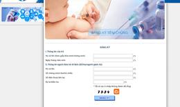 Hà Nội: 9h ngày 30/8 đăng ký tiêm 3.500 liều vắc xin Pentaxim qua mạng