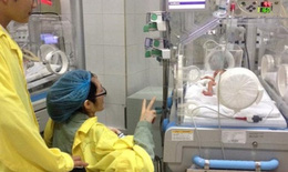 Cảm xúc của chồng thiếu úy Đậu Thị Huyền Trâm trước đêm con trai được xuất viện