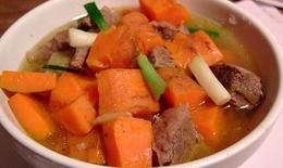 Cà rốt thực phẩm cho mùa đông