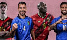 Bỉ - Italia đại chiến được chờ đợi