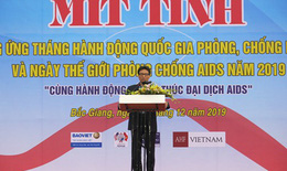 Kết thúc đại dịch HIV vào năm 2030-  Quyết liệt chung tay hành động trong giai đoạn nước rút