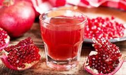 Nước ép lựu giúp giảm huyết áp và cholesterol