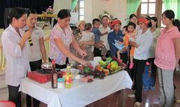 Giảm suy dinh dưỡng cho trẻ em dân tộc thiểu số nhờ truyền thông
