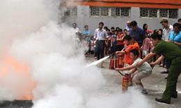 Dạy trẻ cách ứng phó khi xảy ra hỏa hoạn