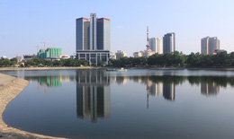 Chủ đầu tư kiến nghị lấp hồ Thành Công: Sẽ bù chỗ lấp về phía bắc hồ