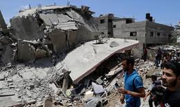 Dải Gaza tan hoang trong xung đột Israel – Palestine