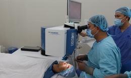 Bệnh viện Mắt TW: Triển khai phẫu thuật tật khúc xạ không chạm mắt