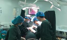 Bé trai 5 tháng tuổi bị bệnh tim bẩm sinh được phẫu thuật thành công