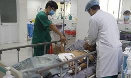 Báo động đỏ cứu sống nam công nhân vỡ ruột do thanh sắt rơi trúng bụng