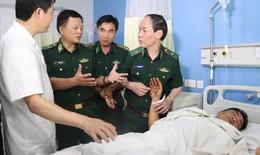 Kịp thời cứu chữa 2 chiến sĩ bị thương nặng do phá án đường dây ma túy xuyên quốc gia