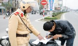 Nghiên cứu  hình thức nộp phạt vi phạm giao thông  trên Cổng dịch vụ công quốc gia
