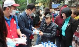 Hội chữ thập đỏ VN: Phát miễn phí 10.000 khẩu trang và 1.000 chai rửa tay sát trùng