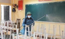 Bộ GD&ĐT hướng dẫn biện pháp phòng, chống dịch COVID-19 khi học sinh trở lại trường