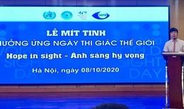 Ngày Thị giác thế giới:  Việt Nam có khoảng 2 triệu người bị mù lòa, có thị lực kém
