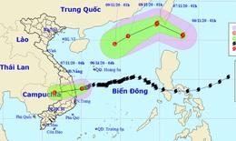Áp thấp nhiệt đới áp sát Quảng Ngãi - Phú Yên, xuất hiện bão mới gần Biển Đông