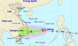Thời tiết 9/11/2020: Bão số 12 giật cấp 10, hướng vào các tỉnh từ Phú Yên đến Ninh Thuận