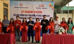 Nghệ An, Hà Tĩnh: Khánh thành bàn giao công trình trường học được sửa chữa sau mưa lũ