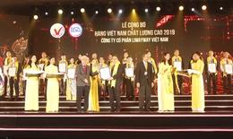 Vedan lọt top Hàng Việt Nam Chất lượng cao 2019