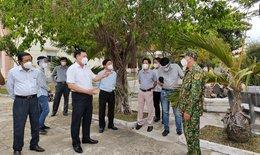 Thứ trưởng Đỗ Xuân Tuyên: Phú Yên cần tránh lây nhiễm chéo trong khu cách ly, phong toả