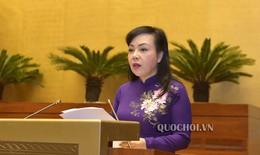 Quốc Hội nghe tờ trình về dự án Luật Phòng, chống tác hại của rượu bia